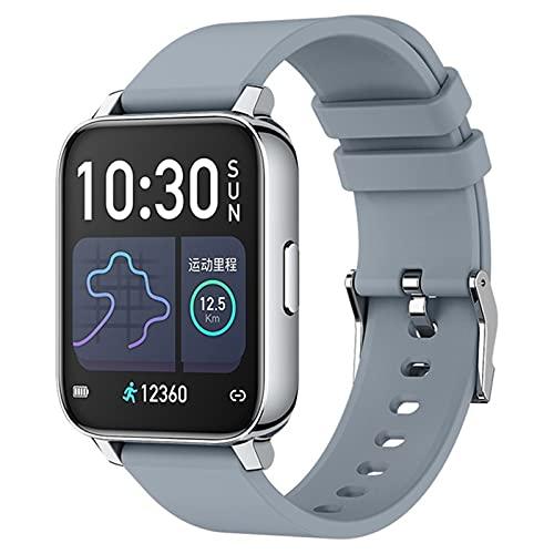 DKM 1.69 Pulgadas Pantalla 2021 Smartwatch Hombre Y Ritmo Cardíaco para Mujer Reloj Inteligente para Deportes para Android iOS,M