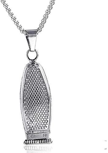 PPQKKYD Halskette Halskette Persönlichkeit Rasiermesser Schmuck Exquisite Damen Männer Anhänger Halskette Titan Stahl dominanten Stil Anhänger
