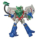 Transformers Bumblebee Cyberverse Adventures Battle Call Trooper Class Starscream, Voice Activated Energon Power Lights, Ages 6 and Up, 5.5-inch
