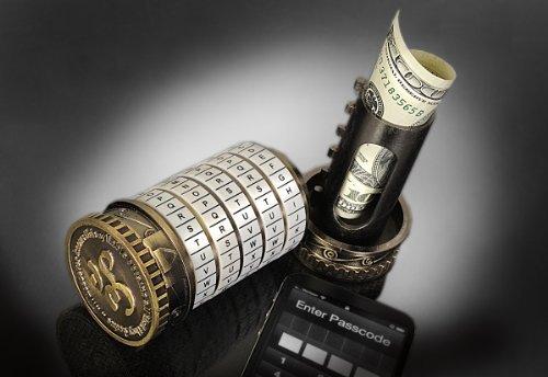 Retroworks Large Cryptex Bronze