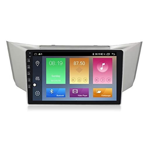 ADMLZQQ GPS para Coches, Navegador GPS Coche para Lexus RX-300 2003-2009 Car Radio Mp5 Stereo WiFi/Bluetooth/FM/Mandos Volante/Manos Libres + Cámara De Visión Trasera,M500 4+64g