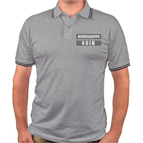 Männer und Herren Polo Shirt Germania Midgards Erbe (mit Rückendruck) Größe S - 8XL