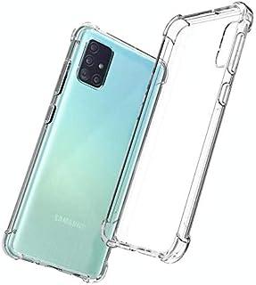Shockproof Clear Case for Samsung Galaxy A51 Air-Cushion-Corner TPU Cover