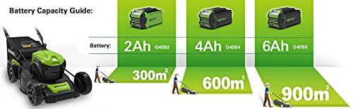 Greenworks GD40LM46SPK2x Height Adjustment