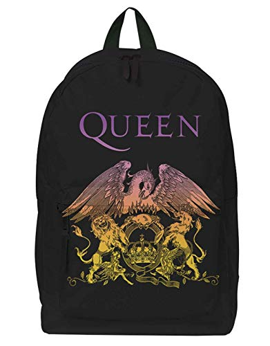 Queen Backpack Rucksack Classic Crest Band Logo Bohemian Rhapsody Nue offiziell