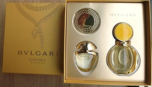 Bulgari Goldea Travel Beauty Set femme woman (Eau de Parfum, 50 ml+Eau de Parfum, 25 ml+Spiegel)
