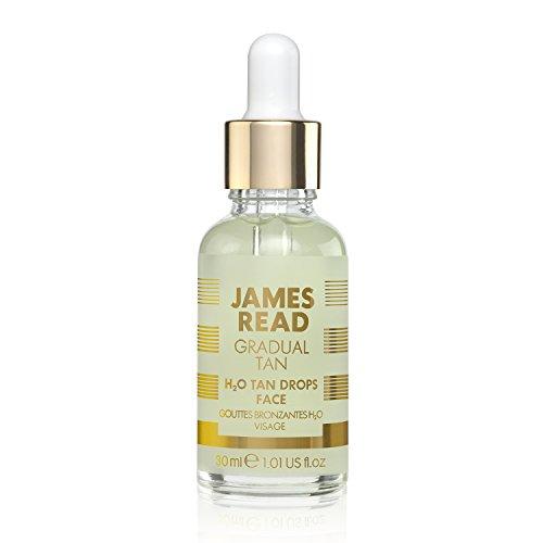 JAMES READ H2O-Bräunungstropfen mit allmählichem Bräunungseffekt – Gesicht (30 ml) Kombinierbar...