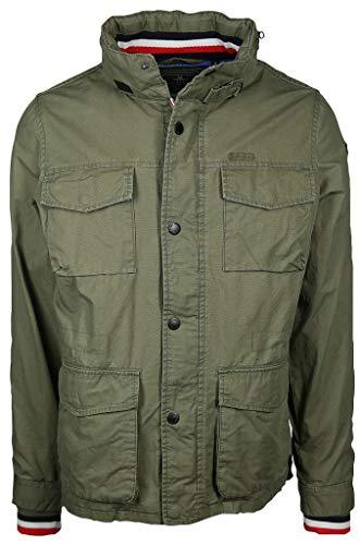 New Zealand Auckland Herren Jacke mit großen Taschen Makara Größe XL Grün (grün)
