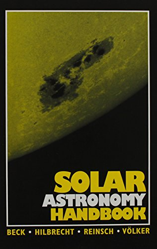Download Solar Astronomy Handbook 0943396476