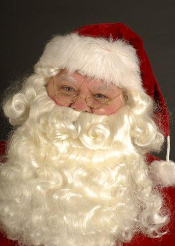 Superior Santa perruque et barbe Set