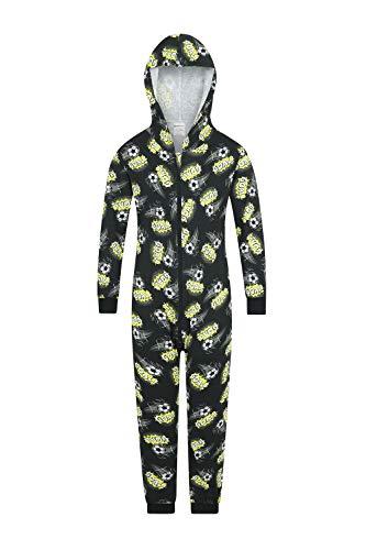 The PyjamaFactory - Saco de Dormir 100% algodón, diseño de portería de fútbol