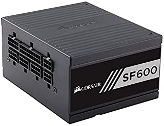 Corsair SF600 Platinum Fully Modular Power Supply, Black