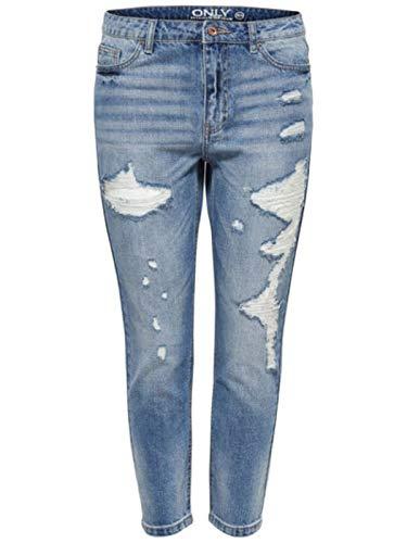 TONNI BOYFRIED Jeans [MEDIUM Blue Denim] W27 L32