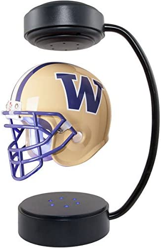 Washington Huskies NCAA Al sold out. Credence Hover Helmet Levitating Fo Collectible -