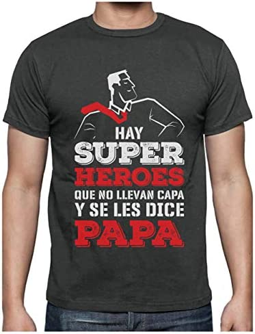 Green Turtle Camiseta para Hombre - Regalos para Hombre, Regalos para Padres Originales, Regalo Padre Divertido - Mi Papá es mi Súper Héroe -