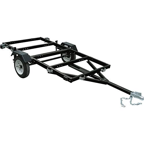 Ironton 4ft. x 8ft. Steel Folding Utility Trailer Kit - 1170-Lb. Load Capacity