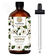 Ingredients: USDA Certified organic, 100% pure, premium grade Jasmine Oil (Jasminum Grandiflorum). Makes you happy: This oil is known for uplifting mood, alleviating mood swings and making you feel cheerful. It can reduce feelings of sadness. Allurin...