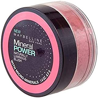 Maybelline Mineral Power Naturally Luminous Blush GENTLE PINK