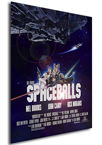 Instabuy Poster Spaceballs (La Loca Historia de Las Galaxias) Vintage Movie Poster - A3 (42x30 cm)