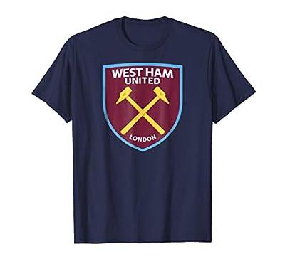 Mens Mens West Ham United Color Crest T-shirt Navy