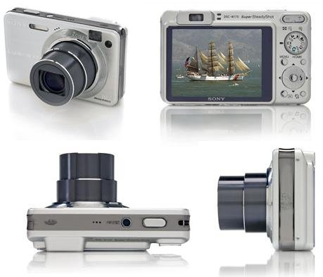 Sony Cyber-Shot DSC-W170 Digitalkamera 10.3 Megapixel