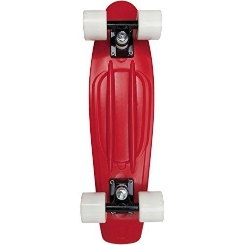 AREA Skateboard-Komplettset rot Einheitsgröße