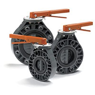 """6"""" PVC Butterfly Valve from Colonial Engineering"""