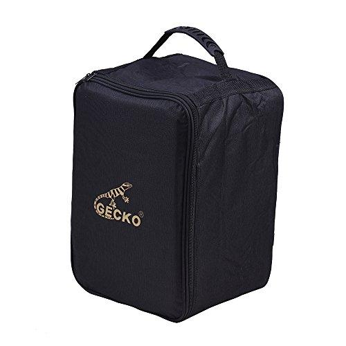 Festnight Cajon Tasche für Kinder, Cajon Box Drum Bag Rucksack 600D 5MM Baumwolle Polsterung mit Tragegriff Schultergurte