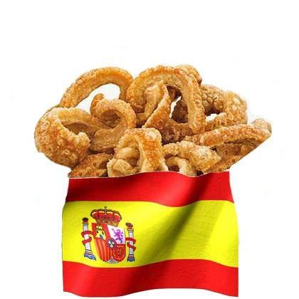 Tocifritos Iberico Pork Scratchings 1,3 Kg - getrocknete Schweineschwarte frittiert - Tapas Snack - Geschenkidee - WF-11024