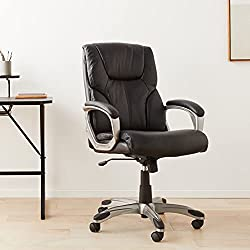 AmazonBasics High-Back Executive Chair Pic-Best Office Chair Under 100