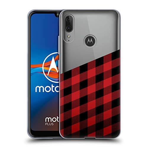 Head Case Designs Ufficiale Nicklas Gustafsson Taglialegna Textures 2 Cover in Morbido Gel Compatibile con Motorola Moto E6 Plus
