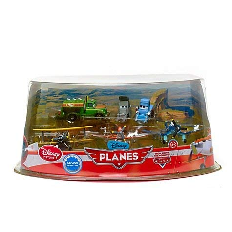 DISNEY PLANES FIGUREN FLUGZEUG SET PROPWASH JUNCTION - DUSTY, SKIPPER, LEADBOTTOM, CHUG, DOTTIE, SPARKY (PVC, Plastic)