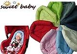 Sweet Baby Softy NewBorn - Reductor de asiento para coche rojo rojo