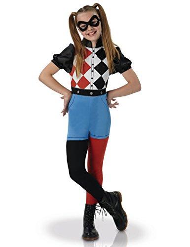 Warner–I-630025S–Costume classico da Harley Quinn, per bambine