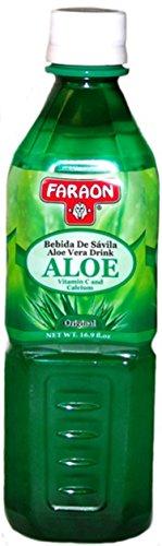 FARAON Aloe Vera Original, 16.907 Ounce (Pack of 20)