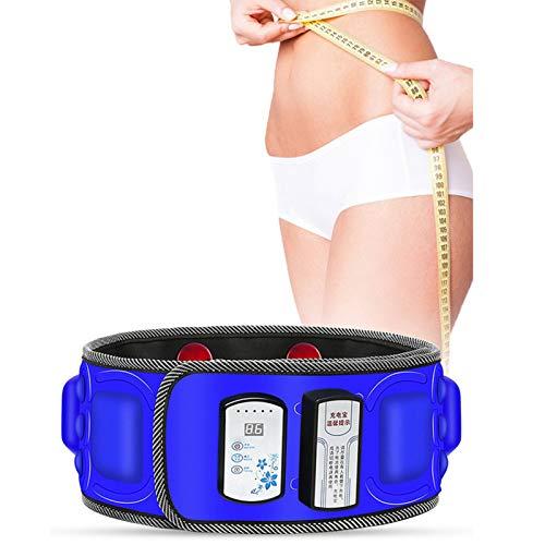 NSWD Cinturón Adelgazante Eléctrico Masajeador De Vibración La Cintura Reductora Peso Y...
