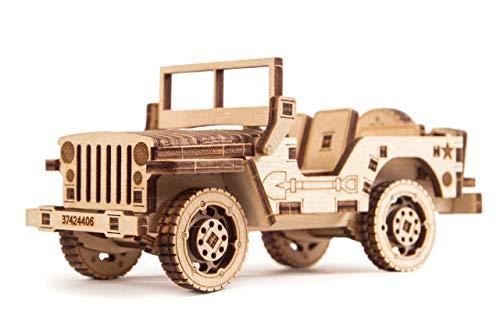 Wood Trick - Puzzle de Madera - Puzzle 3D - Jeep