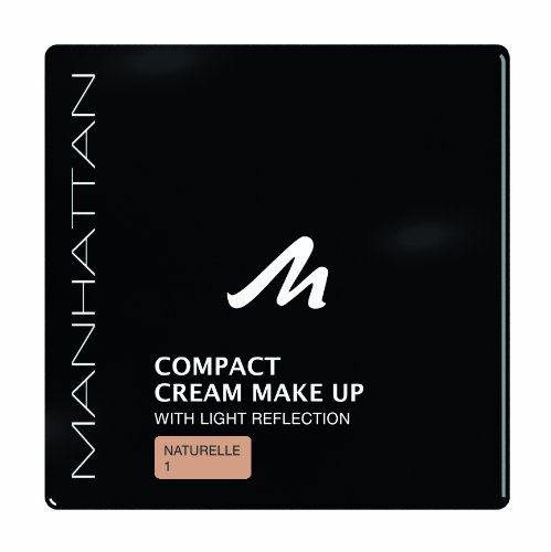 Manhattan 18209 Compact Cream Makeup, naturelle