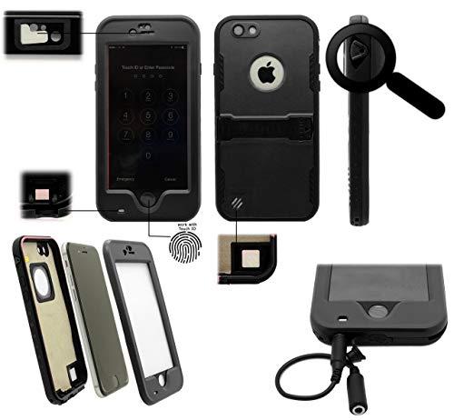 GUPi Carcasa impermeable para iPhone 5, iPhone 5S, iPhone 5SE