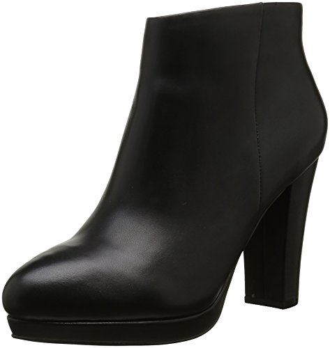 Buffalo 410 10645, Botines Mujer, Negro (Black 01), 40 EU