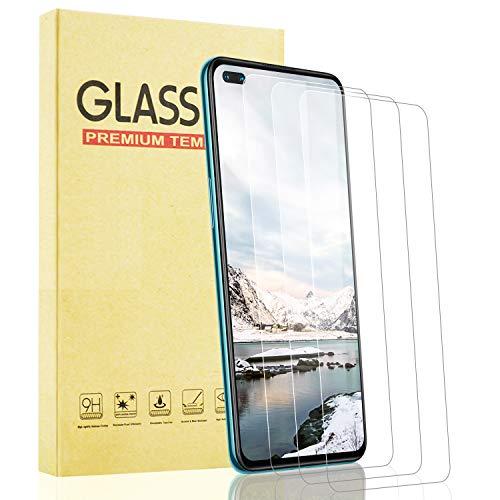 Lixuve 3 Piezas Protector Pantalla de Cristal Templado para OnePlus Nord 5G,...