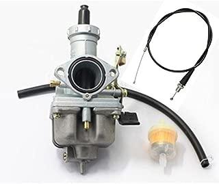 tianfeng Carburetor W/Throttle Cable For Honda ATV FOURTRAX 200 TRX200 SX TRX200D TRX200 4 Wheeler Quad Carb