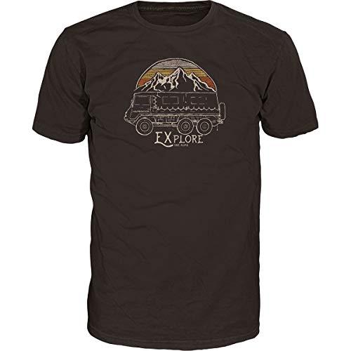 Alprausch Herren Pinzgauer T-Shirt, Chocolate Torte, XXL