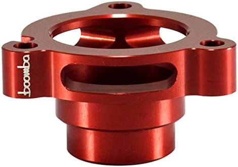 Boomba Super sale Racing BLOW OFF VALVE ADAPTER Ranking TOP9 RED Compatible V with 2015+
