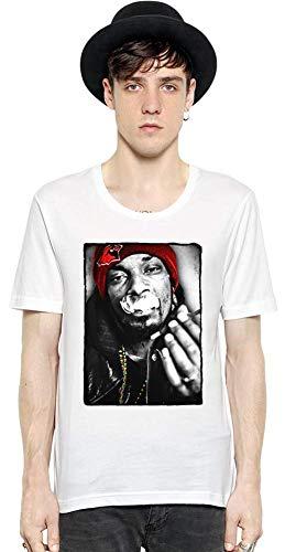 Snoop Dogg Fumar Hierba Smoking Weed Men Short Sleeve T-Shirt tee Shirt Stylish Fashion Fit Custom Apparel by Medium