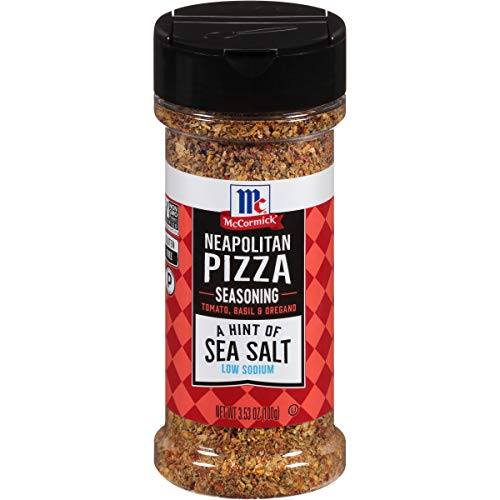 McCormick A Hint of Sea Salt Neapolitan Pizza Seasoning, 3.53 oz