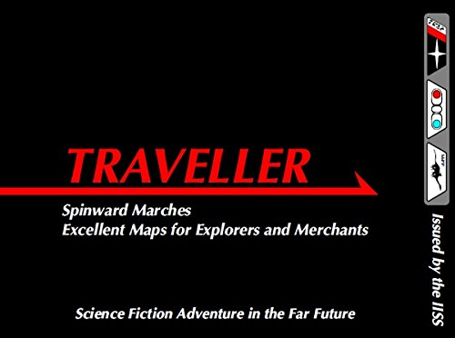 Traveller Spinward Marches - excellent maps for explorers and merchants - Traveller Spinward Karte