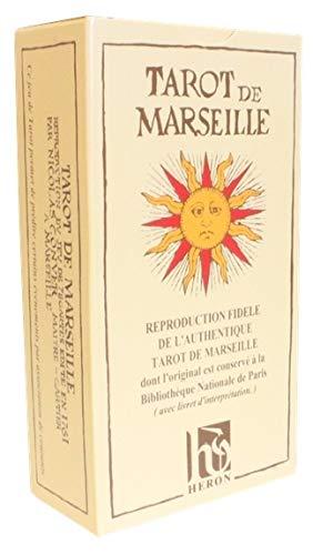 Tarot de Marseille de Conver. 78 Lames. Livret Français
