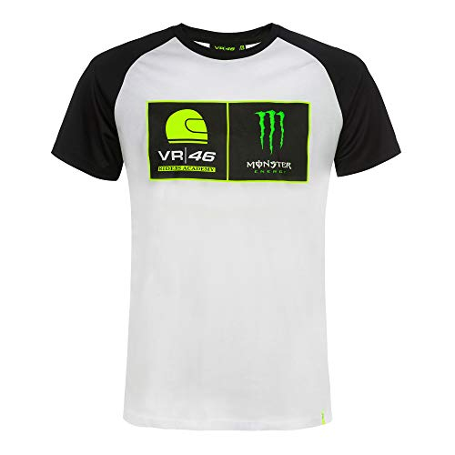 VR46 Valentino Rossi T-Shirt Riders Academy Monster Energy (M)