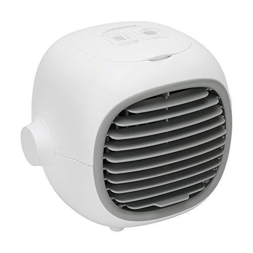 Mini Aire Acondicionado, Ventilador de Escritorio Compatible con enfriamiento Multicapa y enfriamiento rápido para brindar un Mejor Aire y Disfrutar del Verano Fresco